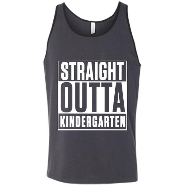 Straight Outta Kindergarten  Bella +Canvas Unisex Tank - TeachersLoungeShop - 7