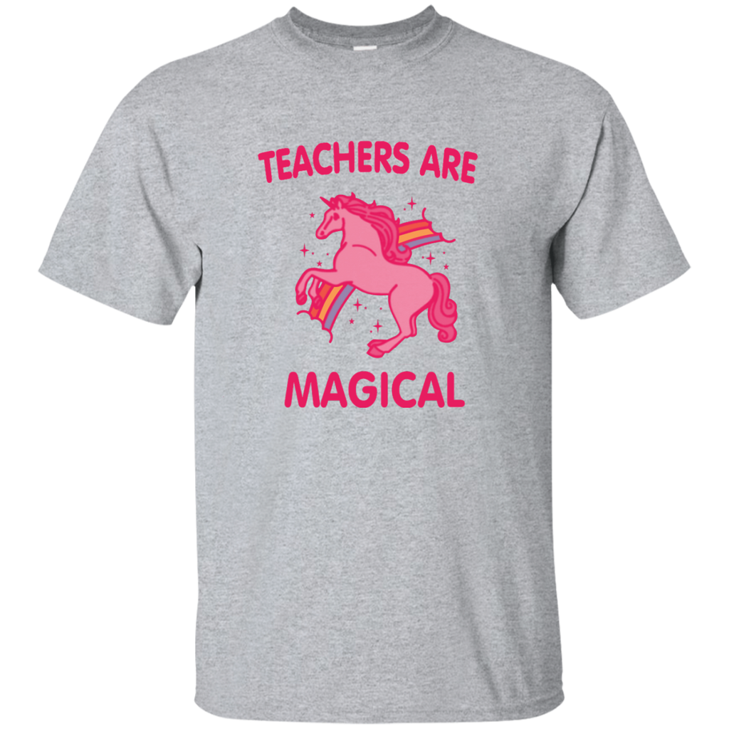 Teachers are Magical Cotton T-Shirt - TeachersLoungeShop - 1