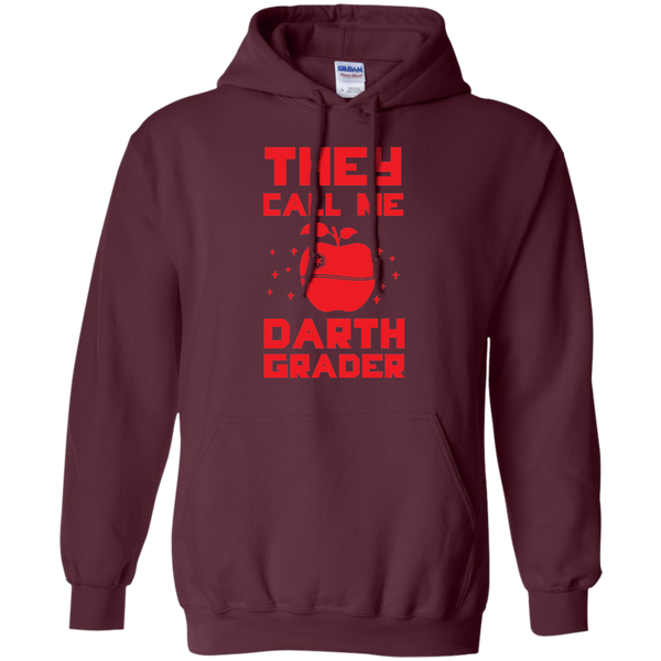 They call me Darth Grade  Hoodie 8 oz - TeachersLoungeShop - 8