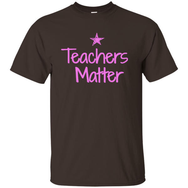 Teachers Matter Cotton T-Shirt - TeachersLoungeShop - 7