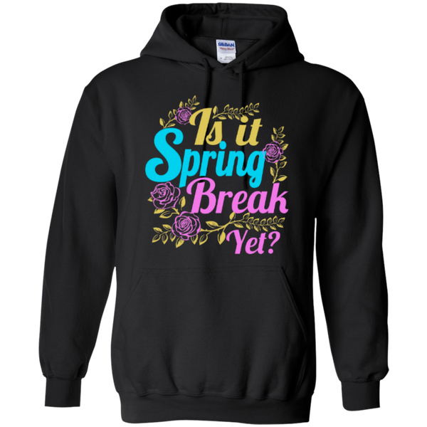 Is it Spring Break Yet Teacher T-shirt Hoodie - TeachersLoungeShop - 6