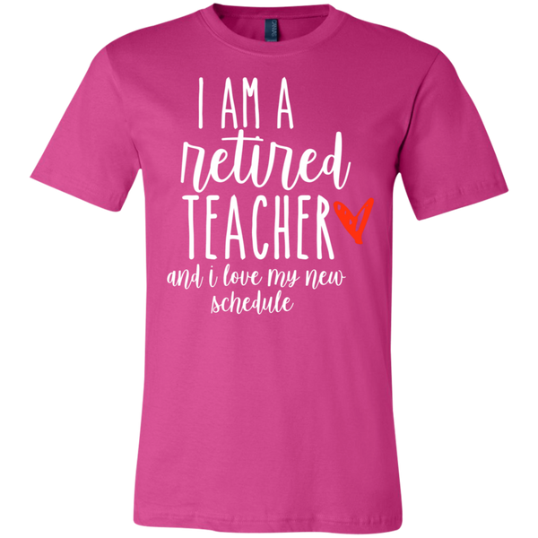I am a retired Teacher and I love my new schedule  T-Shirt