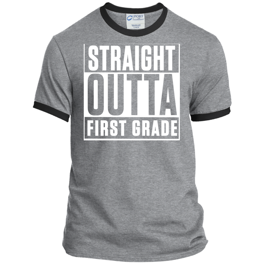 Personalized Ringer Tee - TeachersLoungeShop - 1