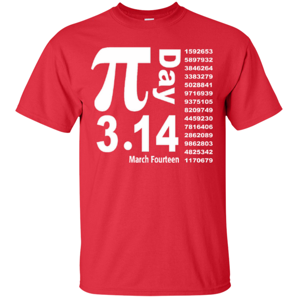 Teacher Math Pi Day March Fourteen 3.14 T-Shirt - TeachersLoungeShop - 2