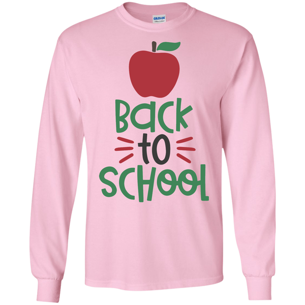 Back to school LS Tshirt