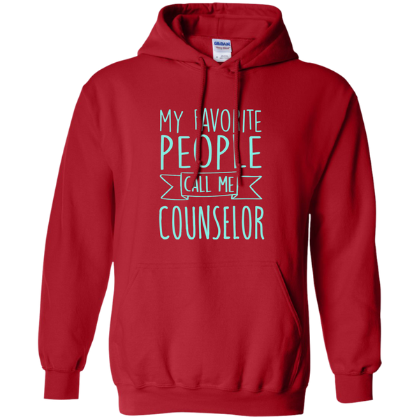 My Favorite People call Me Counselor Pullover Hoodie 8 oz - TeachersLoungeShop - 11