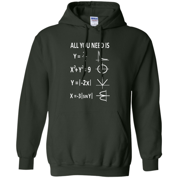All You Need is Love Pullover Hoodie 8 oz - TeachersLoungeShop - 6