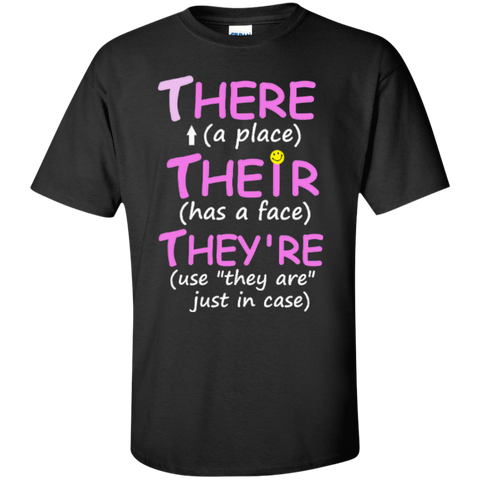 Teacher Grammar  T-Shirt - TeachersLoungeShop - 1