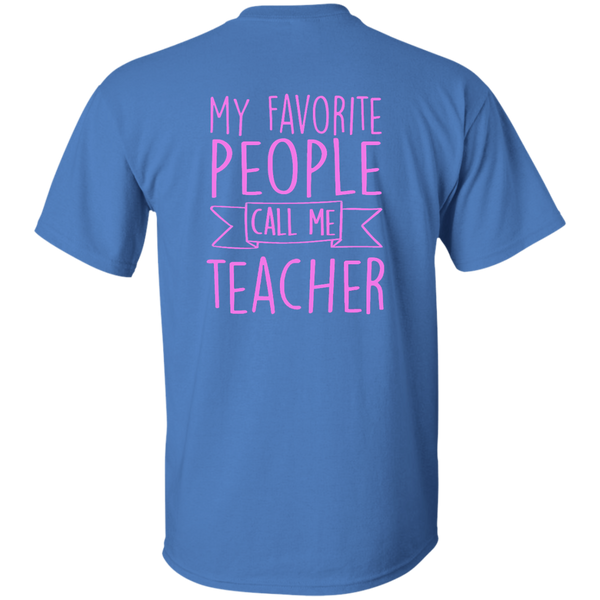 Teacher 101 Cotton T-Shirt - TeachersLoungeShop - 5
