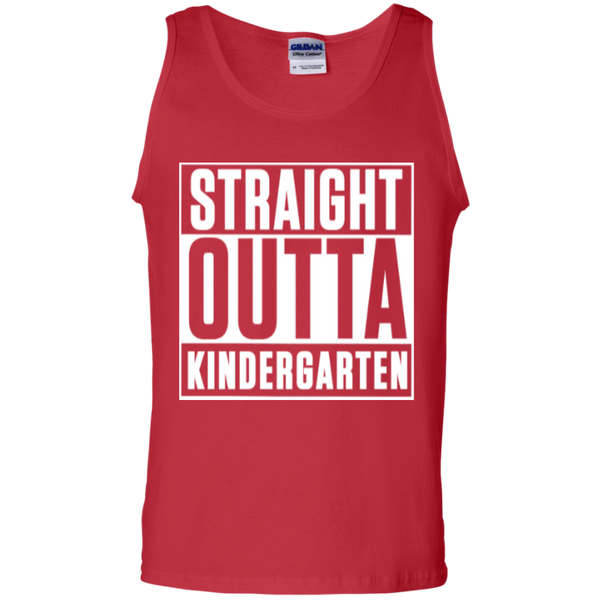 Straight Outta Kindergarten   100% Cotton Tank Top - TeachersLoungeShop - 3
