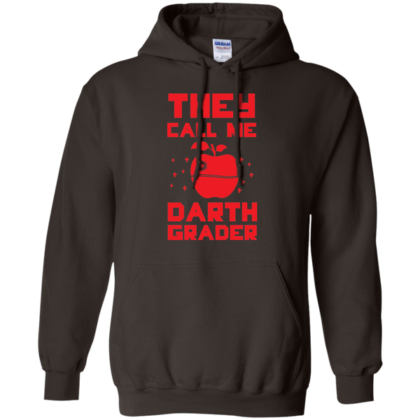 They call me Darth Grade  Hoodie 8 oz - TeachersLoungeShop - 4