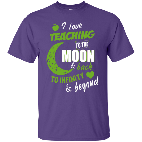 I Love Teaching to the Moon and Back to Infinity and Beyond Teacher T-shirt Hoodie - TeachersLoungeShop - 4