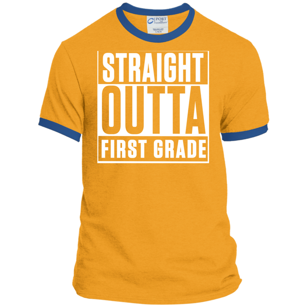 Personalized Ringer Tee - TeachersLoungeShop - 4