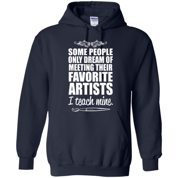 Favourite Artists i Teach Mine Hoodie - TeachersLoungeShop - 2