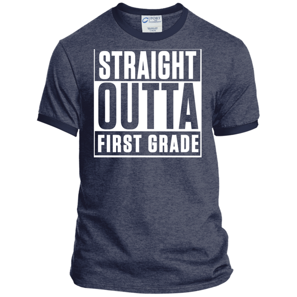 Personalized Ringer Tee - TeachersLoungeShop - 5