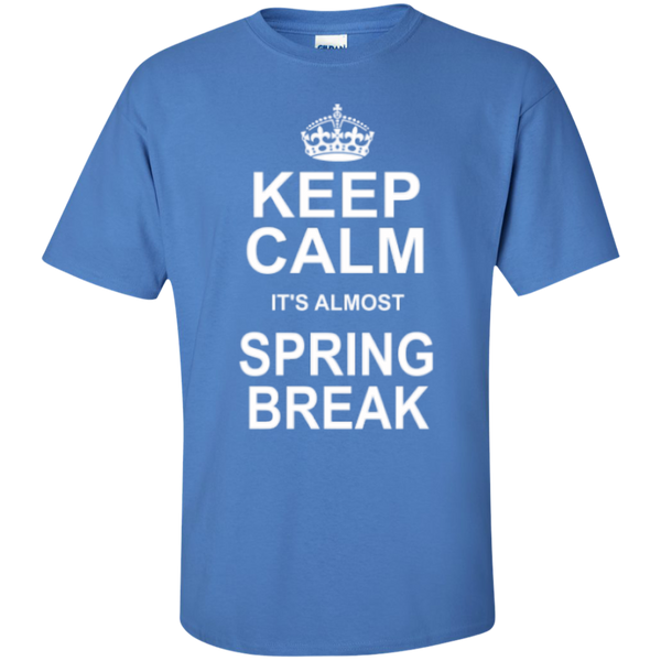 Keep Calm its almost Spring Break Teacher T-shirt Hoodie - TeachersLoungeShop - 6