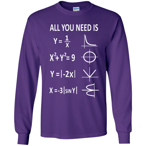 All You Need is Love LS Ultra Cotton Tshirt - TeachersLoungeShop - 11