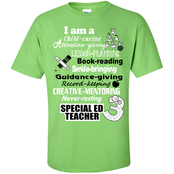I am a Special Ed Teacher Cotton T-Shirt - TeachersLoungeShop - 2