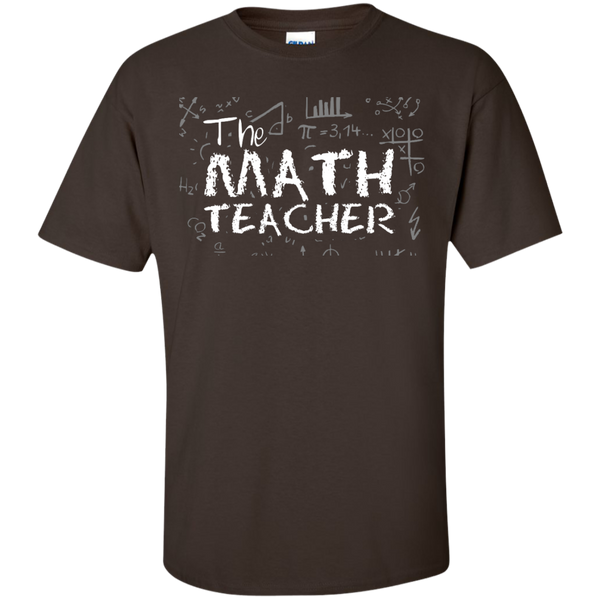 The Math Teacher  T-Shirt - TeachersLoungeShop - 3