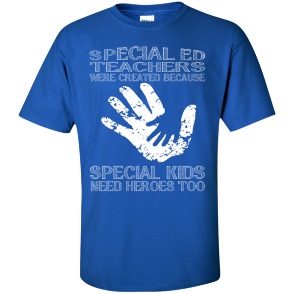 Special Ed Teachers are Created because Special Kids need Heroes T-shirt Hoodie - TeachersLoungeShop - 2
