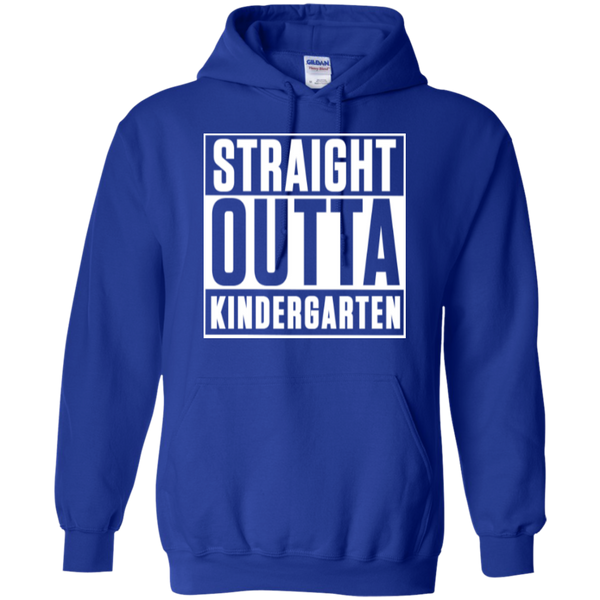 Straight Outta Kindergarten Hoodie 8 oz - TeachersLoungeShop - 12