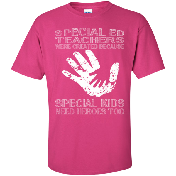 Special Ed Teachers are Created because Special Kids need Heroes T-shirt Hoodie - TeachersLoungeShop - 4