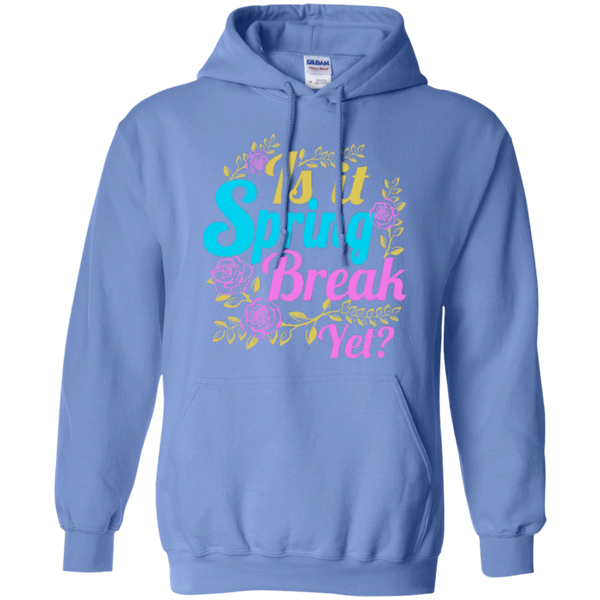 Is it Spring Break Yet Teacher T-shirt Hoodie - TeachersLoungeShop - 7