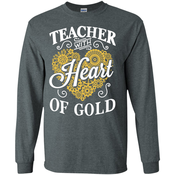 Teacher with Heart of Gold  Ultra Cotton Tshirt - TeachersLoungeShop - 3