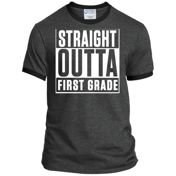 Personalized Ringer Tee - TeachersLoungeShop - 3