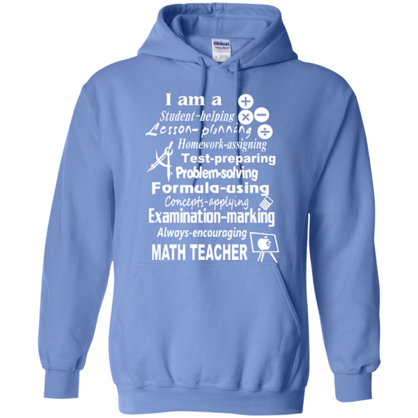 I am a Math Teacher Limited Edition T-shirt Hoodie - TeachersLoungeShop - 7