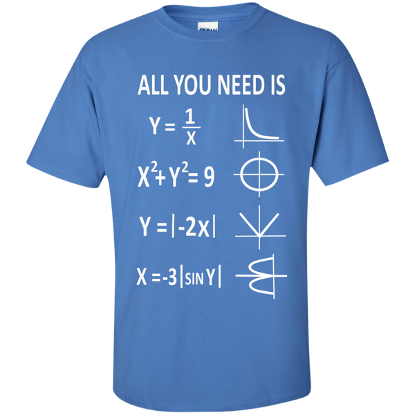 All You Need is Love Cotton T-Shirt - TeachersLoungeShop - 5