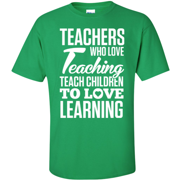 Teachers who love Teaching  T-Shirt - TeachersLoungeShop - 8