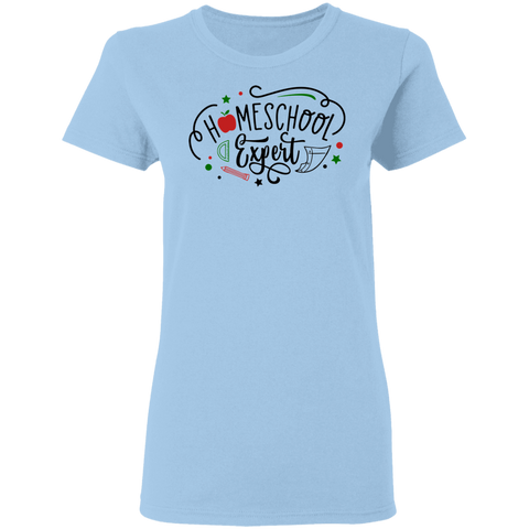 Home school expert Ladies' 5.3 oz. T-Shirt