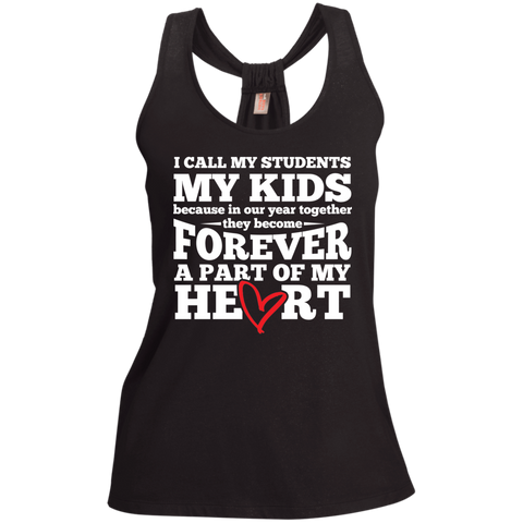 I call my students my kids   Shimmer Loop Back Tank - TeachersLoungeShop