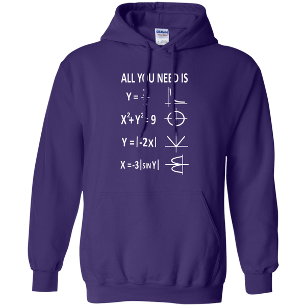All You Need is Love Pullover Hoodie 8 oz - TeachersLoungeShop - 10