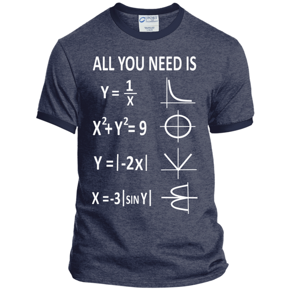 All You Need is Love Ringer Tee - TeachersLoungeShop - 5