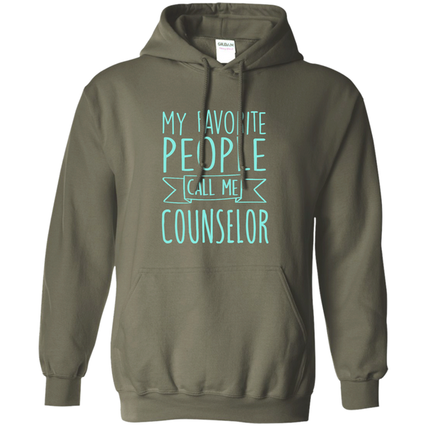 My Favorite People call Me Counselor Pullover Hoodie 8 oz - TeachersLoungeShop - 9