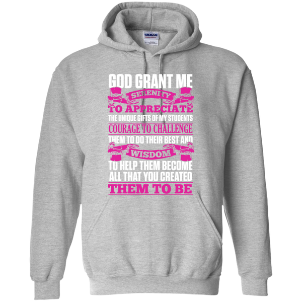 New Teacher's Prayer 2016 T-Shirt  Hoodie 8 oz - TeachersLoungeShop - 2