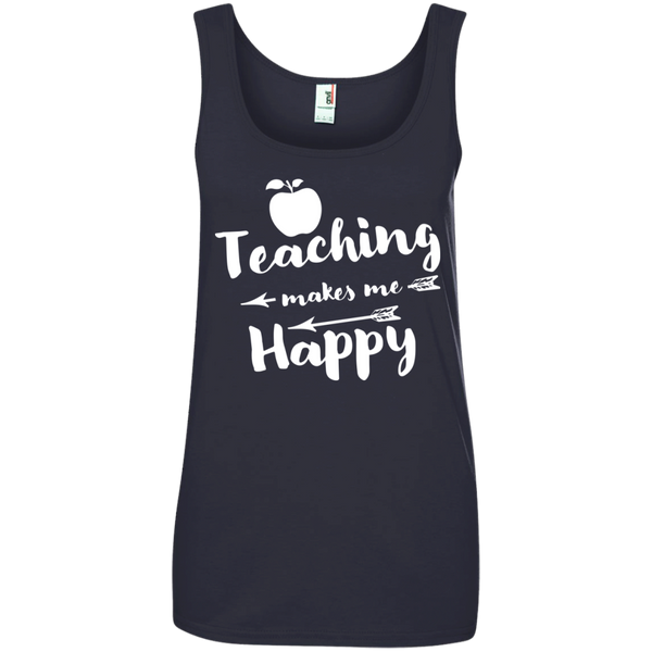 Ladies' 100% Ringspun Cotton Tank Top - TeachersLoungeShop - 5
