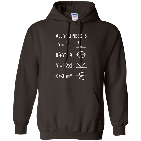 All You Need is Love Pullover Hoodie 8 oz - TeachersLoungeShop - 5