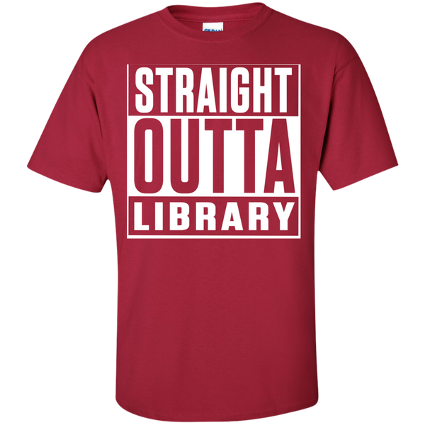 Straight Outta Library T-Shirt - TeachersLoungeShop - 8