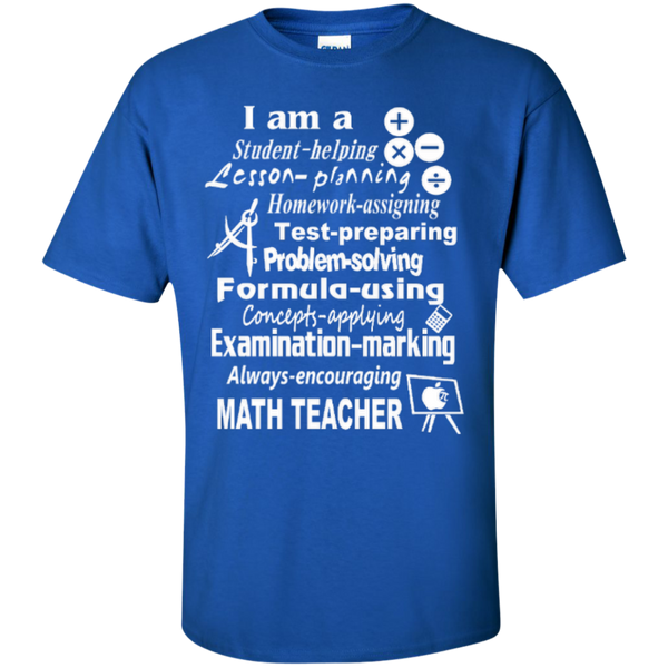 I am a Math Teacher Limited Edition T-shirt Hoodie - TeachersLoungeShop - 2