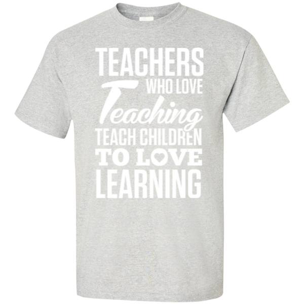 Teachers who love Teaching  T-Shirt - TeachersLoungeShop - 2