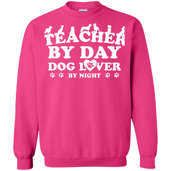 Printed Crewneck Pullover Sweatshirt  8 oz - TeachersLoungeShop - 10