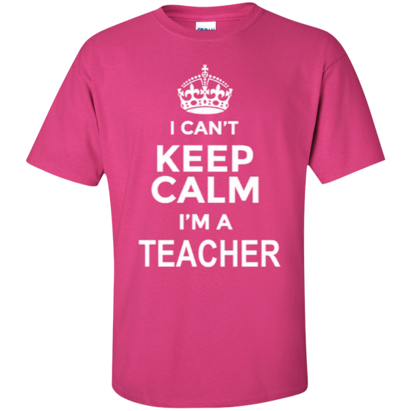I can't Keep Calm i'm a Teacher T-shirt Hoodie - TeachersLoungeShop - 4