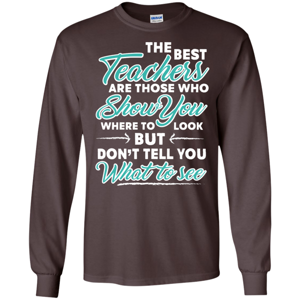 The Best Teachers are those who show you Ultra Cotton Tshirt - TeachersLoungeShop - 3