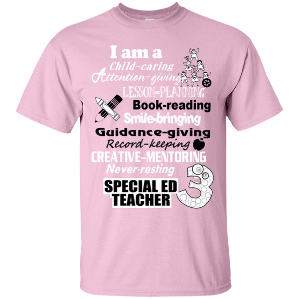 I am a Special Ed Teacher Cotton T-Shirt - TeachersLoungeShop - 4