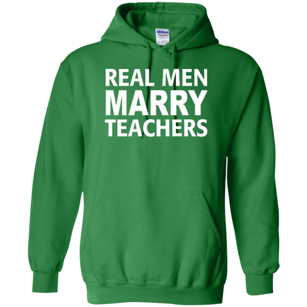 Real Men Marry Teachers T-shirt Hoodie - TeachersLoungeShop - 8
