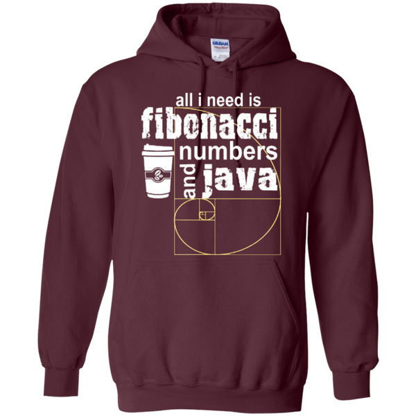 All i need is fibonacci numbers and java  Hoodies - TeachersLoungeShop - 9