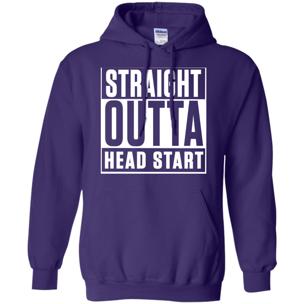 Straight Outta Head Start   Hoodie 8 oz - TeachersLoungeShop - 10